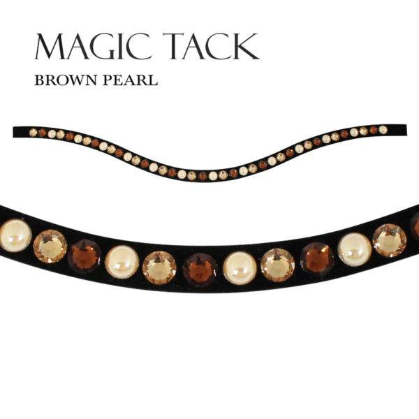 Stubben Magic Tack Inlay for Browband -Curved  - SALE