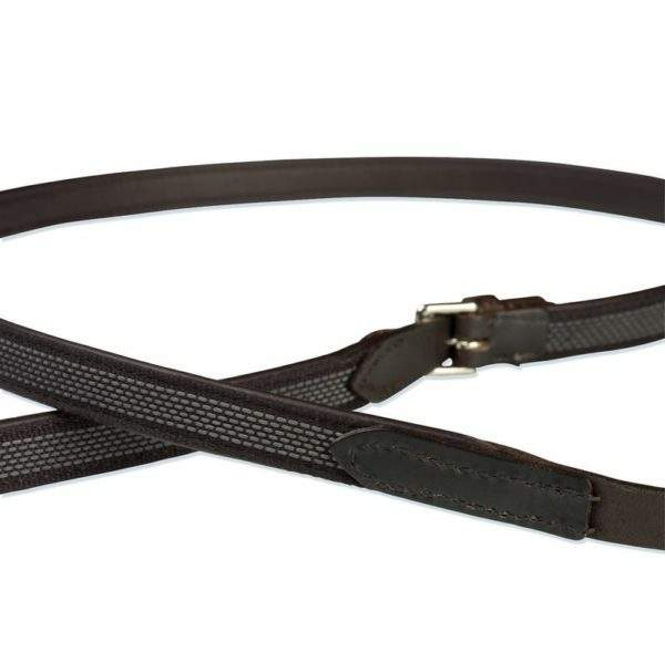 Stubben Leather NT Reins Extra Grip - SALE