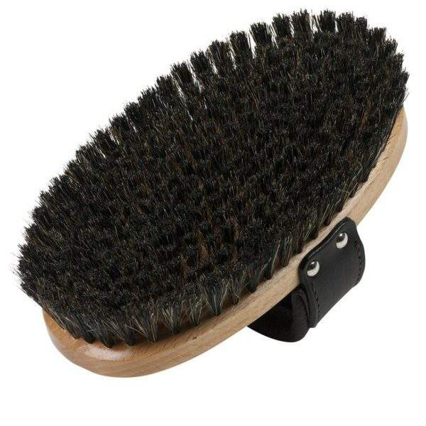 Stubben De Luxe brush soft padded hand loop