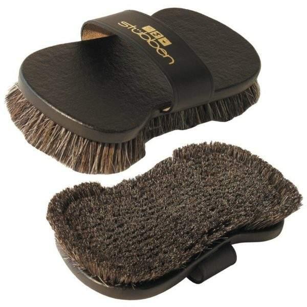 Stubben Leather Hand Loop Brush, Pig bristles - SALE
