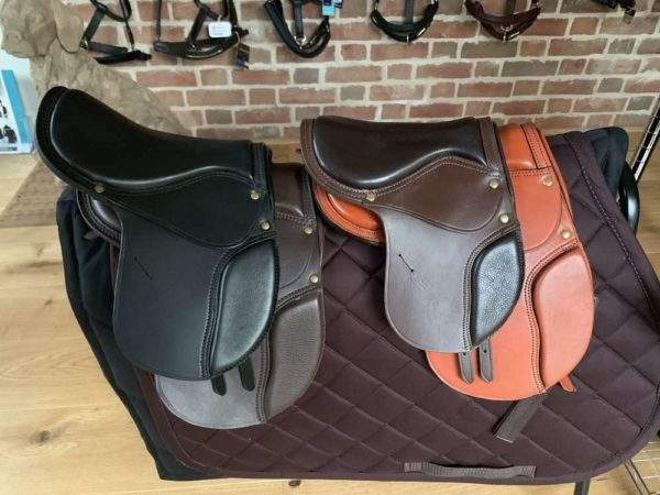 Elite Removable Leather Rocking Horse Tack