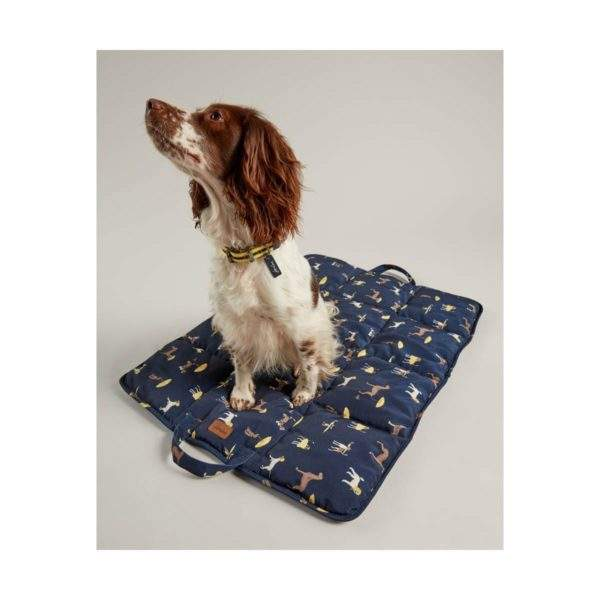 Joules Dog Print Travel Mat