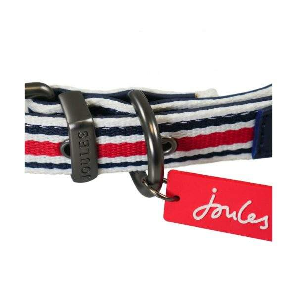 Joules Striped Dog Collar - SALE