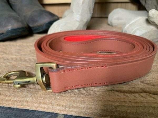 Elite Hound Collar/ Plain Leather Lead