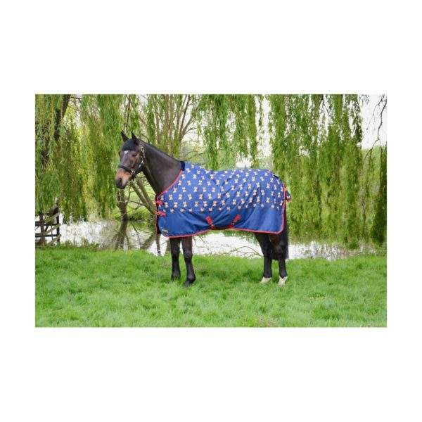Hy StormX Original Fraser the Fox 100g Turnout Rug