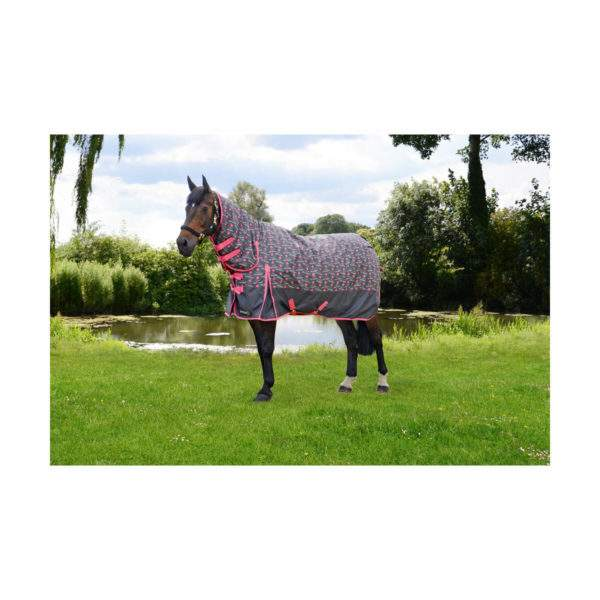 Hy StormX Original Keep Calm and Get Muddy 200g Combi Turnout Rug