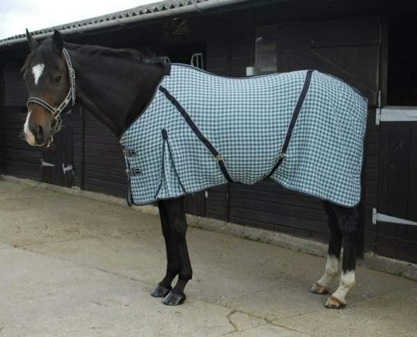 Rhinegold Overcheck 'Box Weave Cooler' Rug