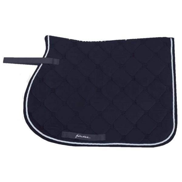John Whitaker Metallic Velvet Saddle Cloth - SALE
