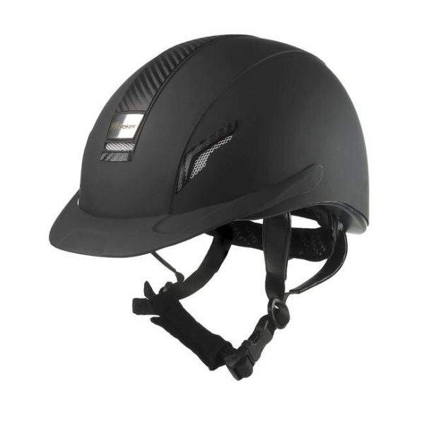 John Whitaker VX2 Carbon Panel Helmet Navy - SALE