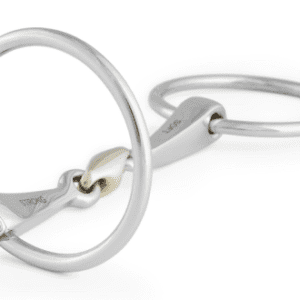 Stubben 2 in 1 Loose Ring Snaffle Bit