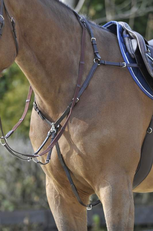 Stubben Breastplate side fit with running attachment
