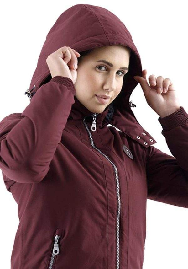 Premier Equine Pro Tech Rider Ladies Hooded Waterproof Riding Jacket