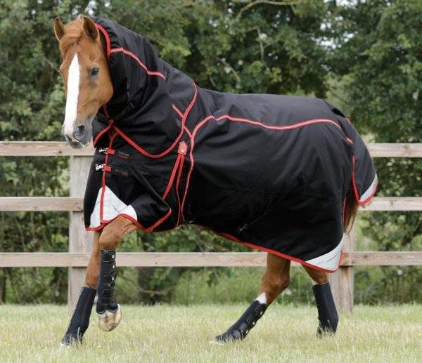 Premier Equine Cellular Zone 450g Turnout Rug with Neck Cover