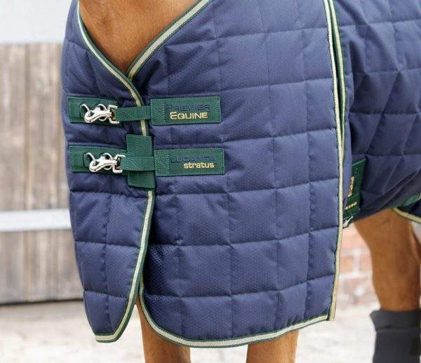 Premier Equine Lucanta 450g Stable Rug with Neck Cover - SALE