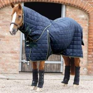 Premier Equine Lucanta 450g Stable Rug with Neck Cover