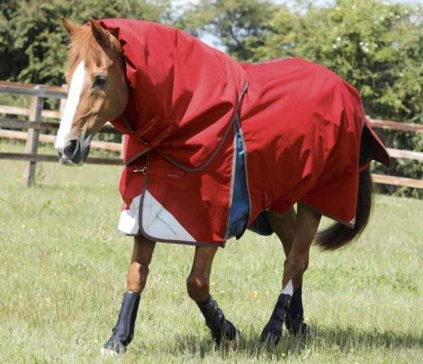 Premier Equine Lucanta Stratus 200g Turnout Rug with Neck Cover