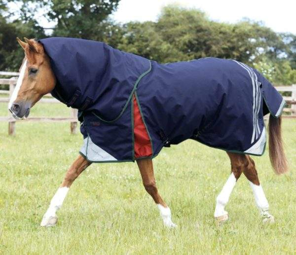 Premier Equine Lucanta Stratus 450g Turnout Rug with Neck Cover