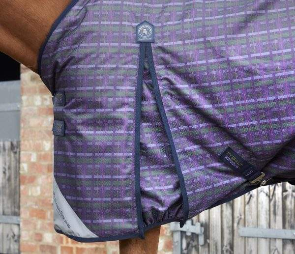 Premier Equine Tybalt Stratus 450g Turnout Rug with Neck Cover