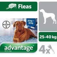 Advantage 400 Spot-On for Large Dogs 25kg