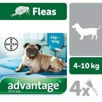 Advantage 100 Spot-On for Dogs 4-10kg