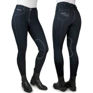 John Whitaker Rawdon Denim Effect Ladies Breeches