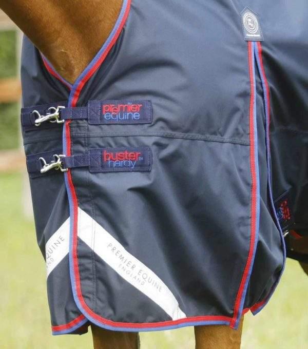 Premier Equine Buster Hardy 0g Half Neck Turnout Rug
