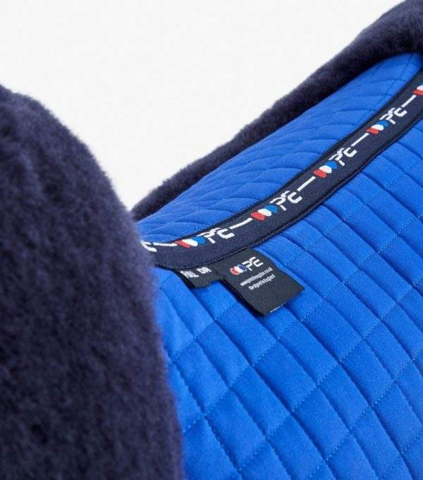 Premier Equine Close Contact Merino Wool European Saddle Pad - Dressage Square