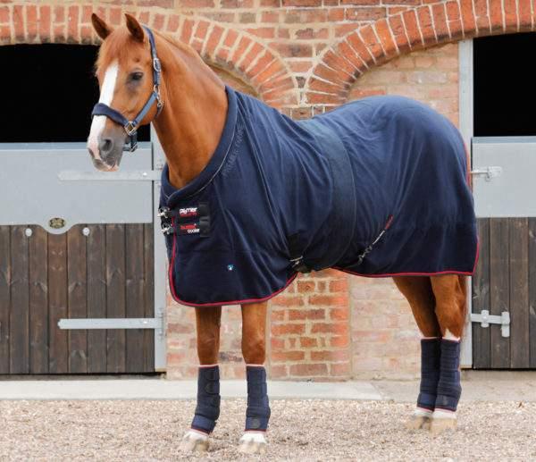 Premier Equine Buster Fleece Cooler Rug - Prestige Edition
