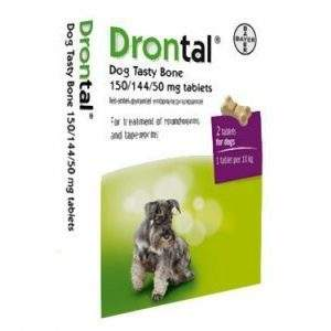Drontal Dog Tasty Bones