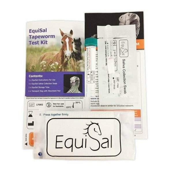 Equisal Tapeworm Test Kit