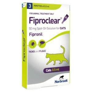 Fiproclear Spot-On for Cats