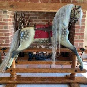 Vintage & Antique Rocking Horses & Tack