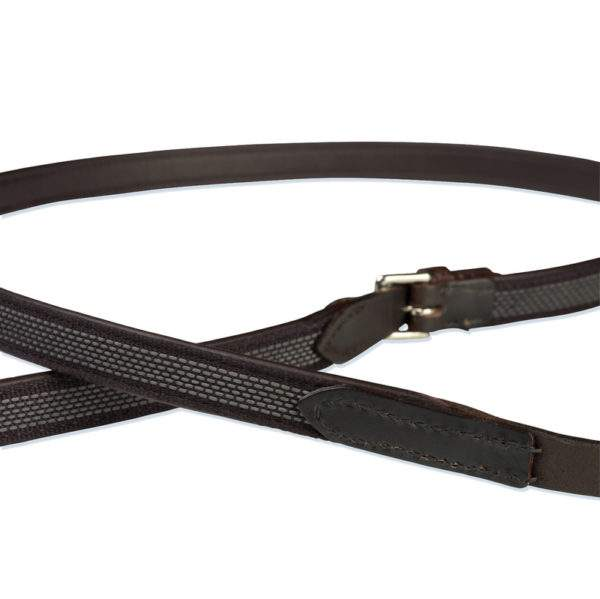 Stubben Leather NT Reins Extra Grip