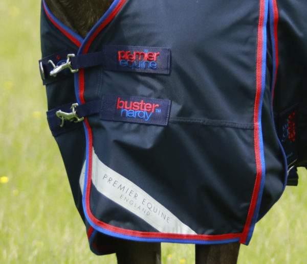 Premier Equine Pony Buster Hardy 0g Half Neck Turnout Rug