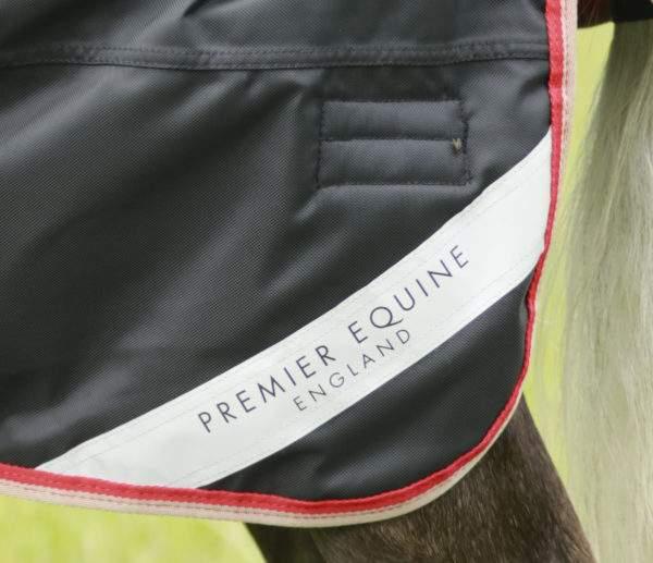 Premier Equine Pony Buster Hardy 100g Half Neck Turnout Rug