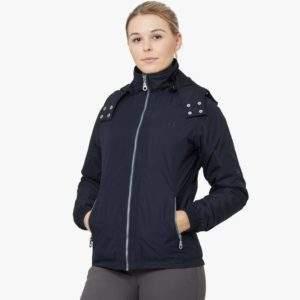 Premier Equine Pro Tech Rider Ladies Hooded Waterproof Riding Jacket