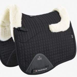 Premier Equine Close Contact Merino Wool European Saddle Pad - Dressage Square