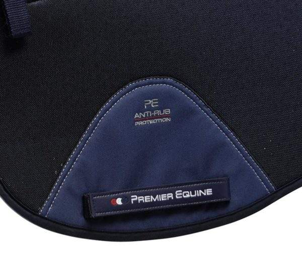 Premier Equine Airtechnology Shockproof Wool European Saddle Pad - Dressage Square