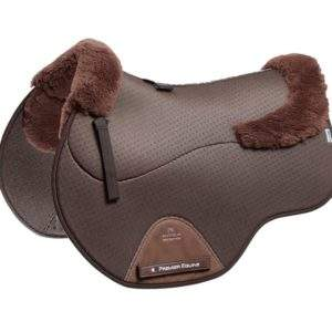 Premier Equine Airtechnology Shockproof Wool European Saddle Pad - GP/Jump Square