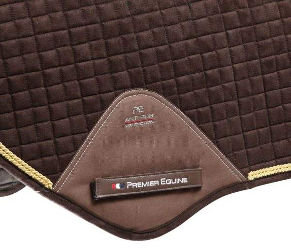 Premier Equine Techno-Suede Close Contact Jump Saddle Pad