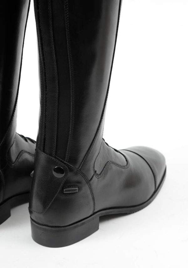 Premier Equine Dellucci Ladies Long Leather Field Riding Boot - Black