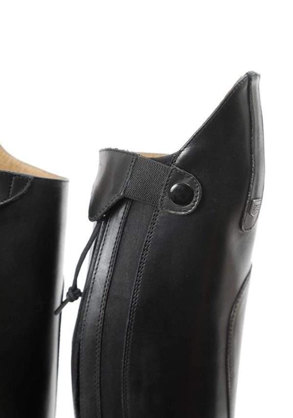 Premier Equine Dellucci Ladies Long Leather Field Riding Boot - Black