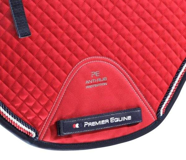Premier Equine European Cotton Saddle Pad - GP/Jump Square
