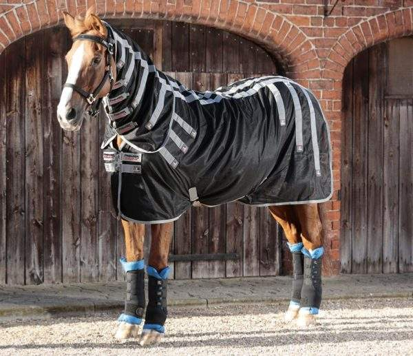Premier Equine Magni-Teque Magnetic Horse Rug with Neck Cover