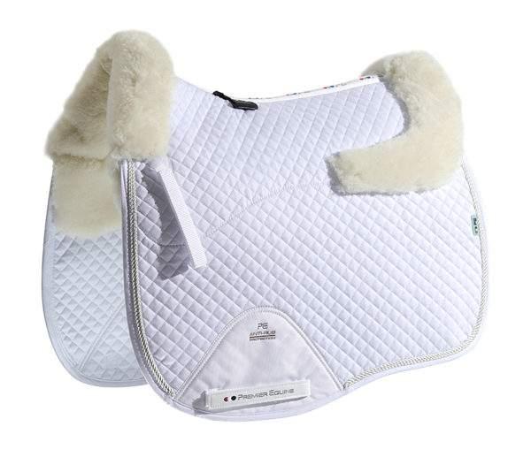 Premier Equine Merino Wool European Saddle Pad - Dressage Square