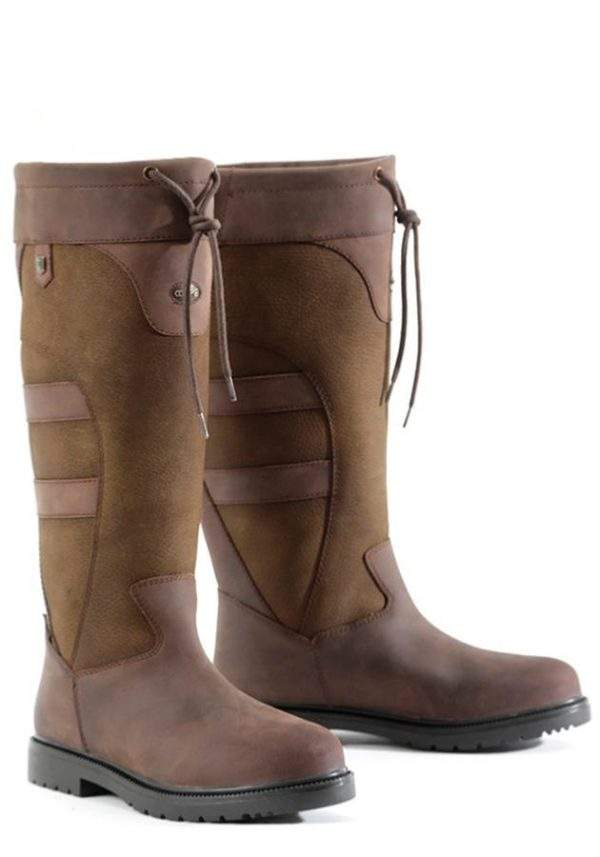 Premier Equine Muckle Roe Ladies Waterproof Leather Country Boots