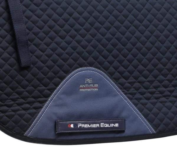Premier Equine Plain Cotton Saddle Pad - GP/Jump Square