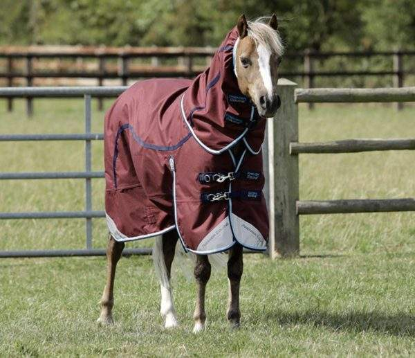 Premier Equine Pony Akoni Stratus 0g Turnout Rug with Neck Cover