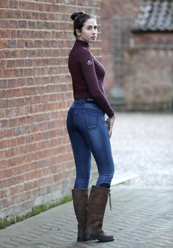 Premier Equine Roxy Ladies Denim Riding Breeches