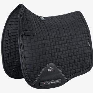 Premier Equine Close Contact European Cotton Saddle Pad - Dressage Square